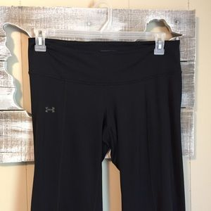 Under Armour | Full Length Fitted Black Pants Med